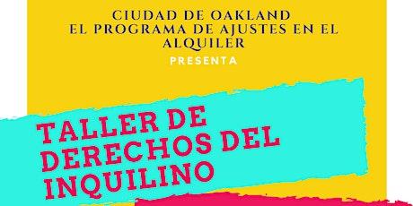 Taller de Derechos del Inquilino (Español/Spanish) boletos