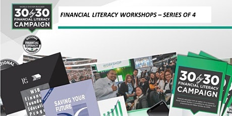 FREE Weekend Boot Camp - Series of 4 Financial Literacy  Workshops tickets