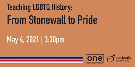 Teaching LGBTQ History: From Stonewall to Pride tickets