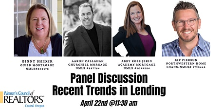 How is the current market effecting lending? Panel Discussion! tickets