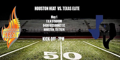 WNFC Week 1: Houston Heat vs. Texas Elite tickets