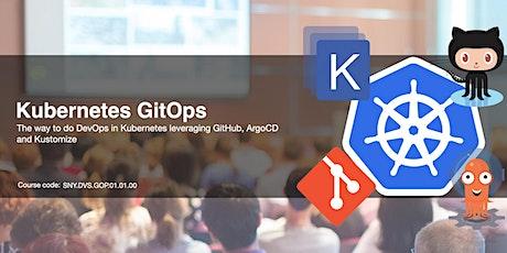 Kubernetes GitOps con GitHub, ArgoCD e Kustomize biglietti
