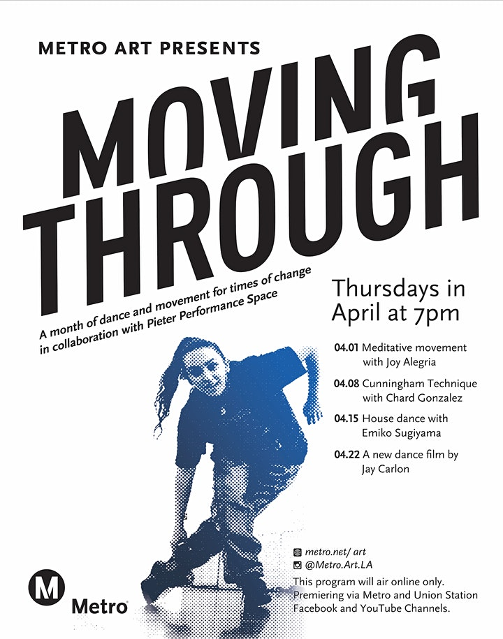 Metro Art Presents Moving Through | BAGGAGE  - Jay Carlon image