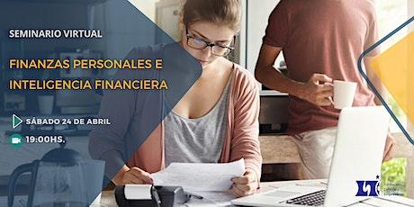 Seminario Virtual: Finanzas Personales e Inteligencia Financiera tickets