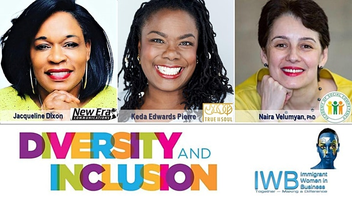 DIVERSITY. INCLUSION  & EMPOWERMENT. Panel and Group Discussions image