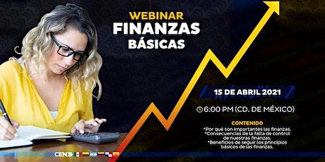 """Webinar GRATUITO: """"Finanzas Básicas"""" entradas"""