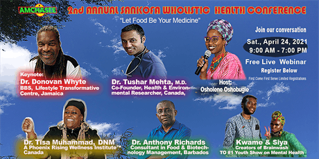 2ND ANNUAL SANKOFA WHOLISTIC HEALTH CONFERENCE tickets