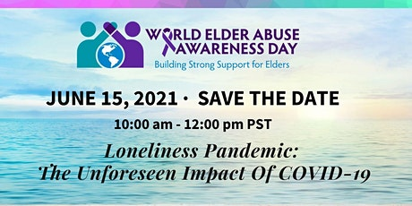 WEAAD: Loneliness Pandemic: The Unforeseen Impact of COVID-19 tickets