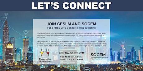 CESLM & SOCEM Free Let's Connect Online Gathering tickets