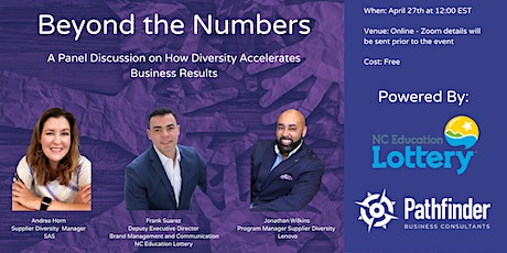 Beyond the Numbers - How Diversity Accelerates Business Results biglietti