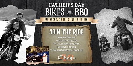 Father's Day Free Ride - Bikes & BBQ tickets
