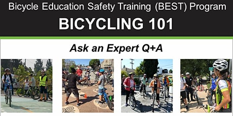 BIKE MONTH: Bicycling 101 - Ask An Expert Q+A - Online Class tickets