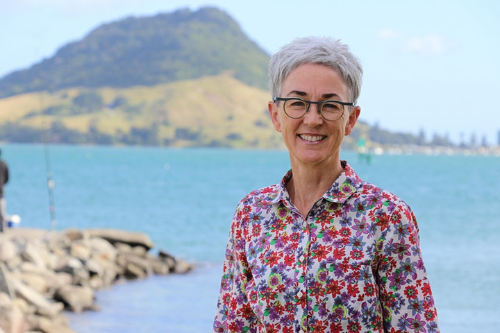 Professor Dame Evelyn Stokes and Tauranga Moana image