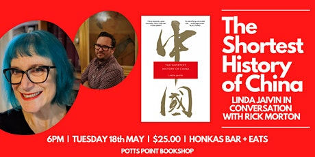 The Shortest History of China — Linda Jaivin & Rick Morton in Conversation tickets