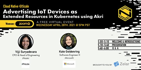 Advertising IoT Devices as Extended Resources in Kubernetes using Akri tickets