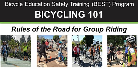 BIKE MONTH: Bicycling 101-Rules of the Road for Group Riding - Online Class tickets
