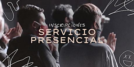 Servicio Presencial 18/04 entradas