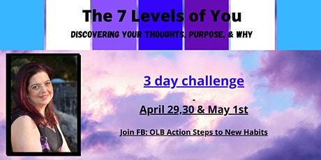 The 7 Levels of You - Discovering Your Thoughts, Purpose, & Why tickets
