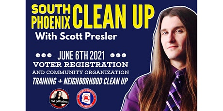 South Phoenix Clean up with Scott Presler tickets