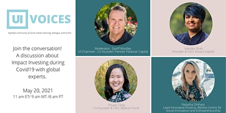 UI Voices by University Impact: Impact Investing during COVID19 tickets
