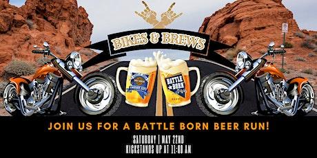 Bikes & Brews - Battle Born Beer Run tickets