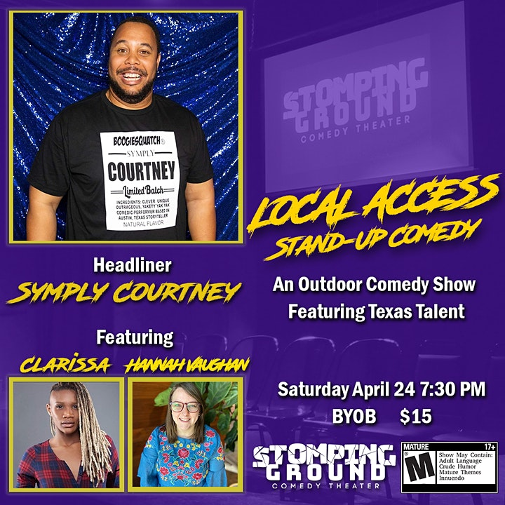 Local Access Stand-Up Comedy Show image