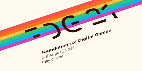 2021 Foundations of Digital Games Conference tickets
