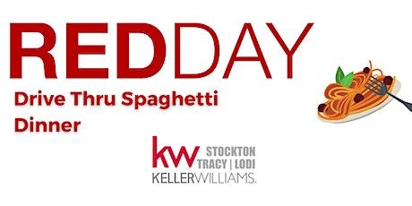 Keller Williams Presents RED DAY's Drive-Thru Spaghetti Dinner tickets