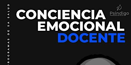 Conciencia emocional docente tickets