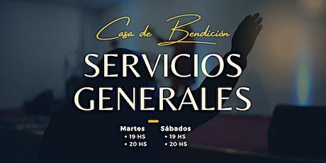 Casa de Bendición - Servicios Generales entradas