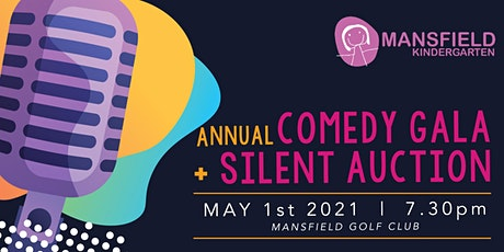 Mansfield Kindergarten 2021 Comedy Gala and Silent Auction tickets