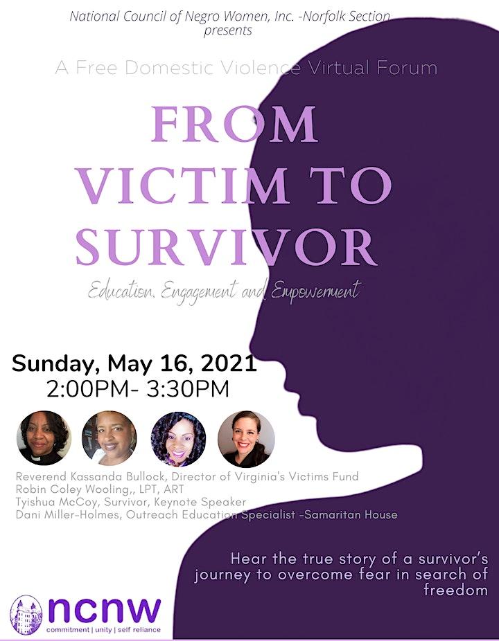 From Victim To Survivor image