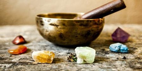 7 Chakras Crystals with Singing Bowl and Meditation tickets