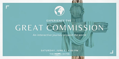 Experience the Great Commission tickets