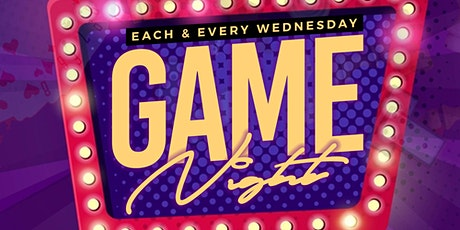 Game Night Wednesdays at Amsterdam Lounge tickets