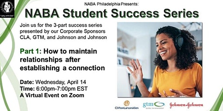 POSTPONED - NABA Student Success Series Part I tickets