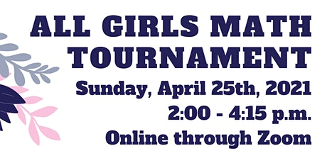 Virtual All Girls Math Tournament @ San Diego 2021 tickets