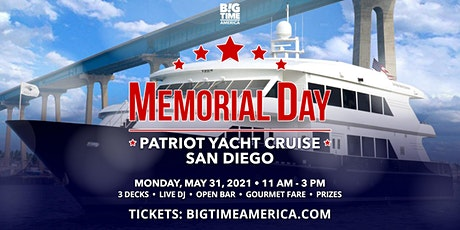 Memorial Day Patriot Yacht Cruise - San Diego tickets
