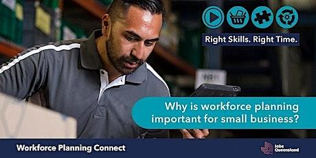 Jobs Queensland's Workforce Planning Connect webinar tickets