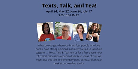 Texts, Talk, and Tea with Laura, Lynsey, Clare and Franki tickets
