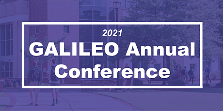 GALILEO Annual Conference 2021 tickets