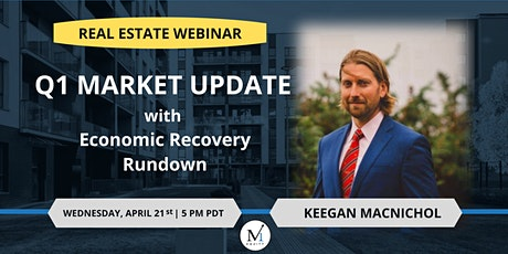 Q1 MARKET UPDATE with  Economic Recovery Rundown tickets
