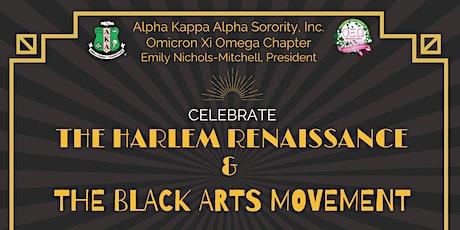 Celebrating the Harlem Renaissance & The Black Arts Movement tickets