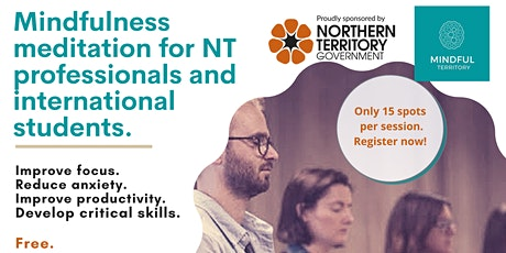 Mindfulness Training for Territorians tickets