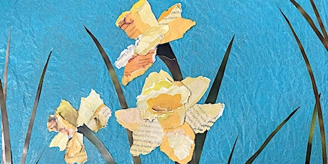 """Collage: """"Painting"""" with Paper Workshop tickets"""