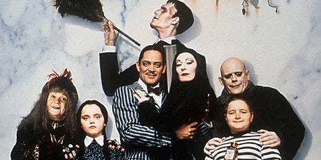 Addams Family (1991) Upland Champagne Velvet Movie Series tickets