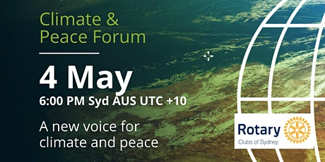 4th of May 2021Climate&Peace Forum tickets