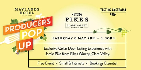 """TASTING AUSTRALIA """"PRODUCERS POP UP"""" by  PIKES WINERY tickets"""