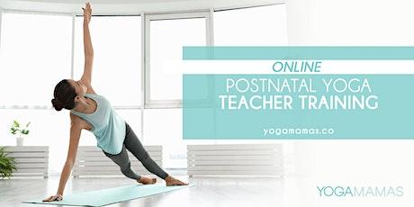 Online Yoga Mamas Postnatal Yoga Teacher Training tickets