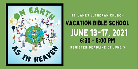 St. James Lutheran Church Vacation Bible School tickets